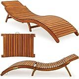 Divero luxus relaxliege sonnenliege strandliege - Gartenliege ergonomisch ...