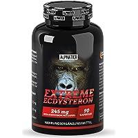 Ecdysterone hoge dosering - 245mg beta-Ecdysteron - 95% werkzaam bestanddeel - Cyanotis Arachnoideaextract (beter dan…