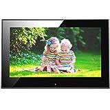 Ever Frames 9-Zoll Hochauflösender Digitaler Bilderrahmen mit 8 GB Speicherplatz