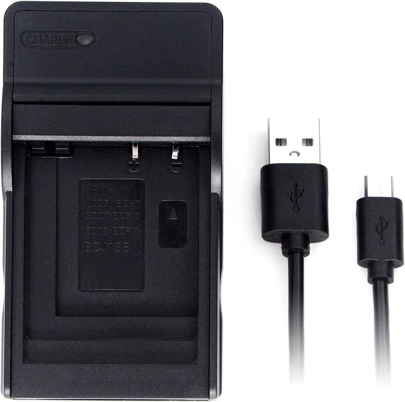 CGA-S005 USB Charger for Panasonic Lumix DMC-FS1 DMC-FS2 DMC-FX01 DMC-FX07 DMC-FX10 DMC-FX12 DMC-FX150 DMC-FX180 DMC-FX3 DMC-FX50 DMC-FX8 DMC-FX9 DMC-LX1 DMC-LX2 DMC-LX3 and More