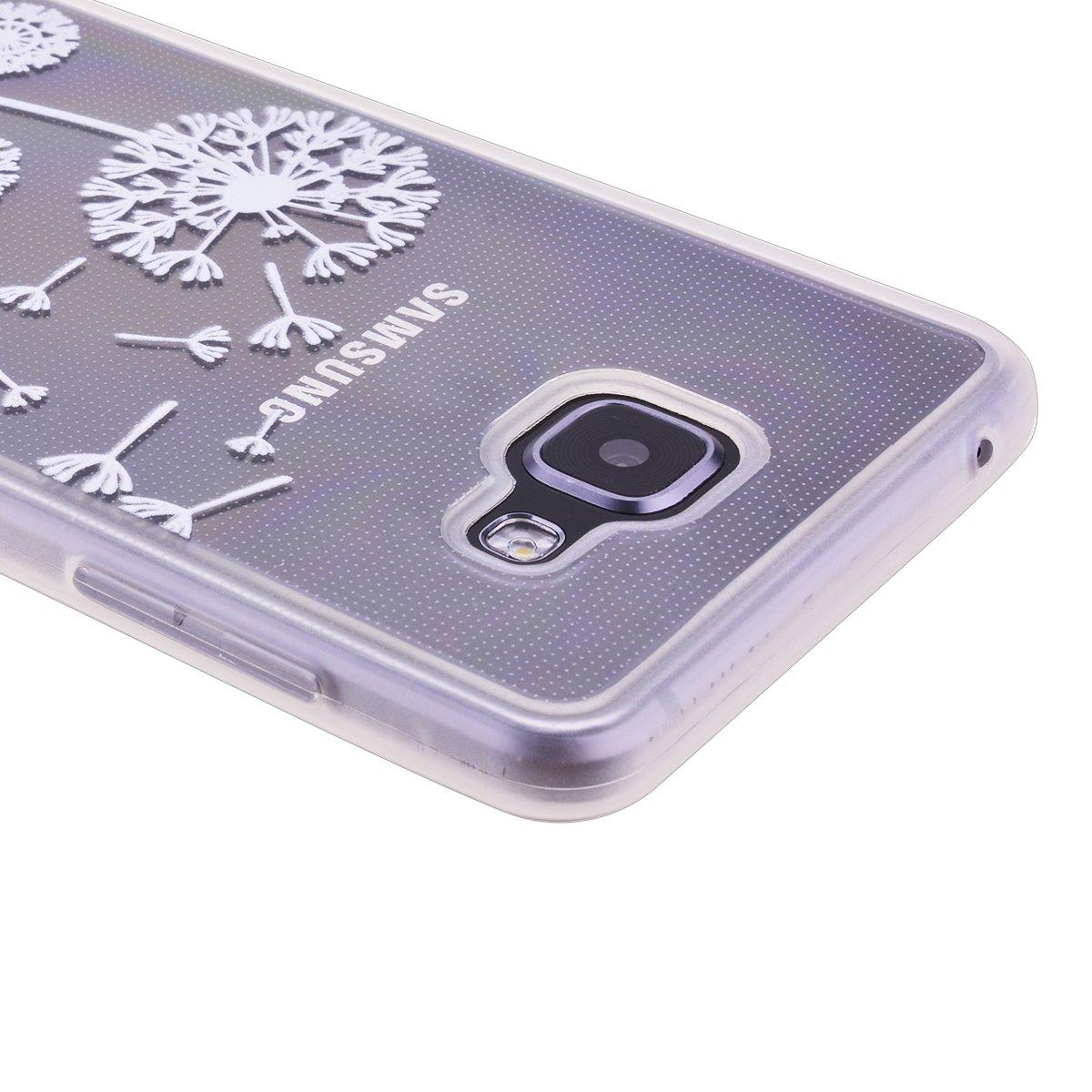 SmartLegend Souple Silicone Coque pour Samsung Galaxy A5 2016 Scrub Skidproof Ultra Thin TPU Hull Etui Mode Extr/êmement Mince L/ég/ère Flexible Housse Soft Bumper Case Protection Cover Anti Choc Fine-Dandelion