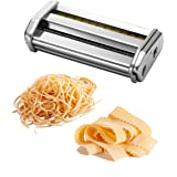 Ovente ACPPA7050S Double Pasta Attachment, Angel Hair (1mm) / Lasagnette (12mm)
