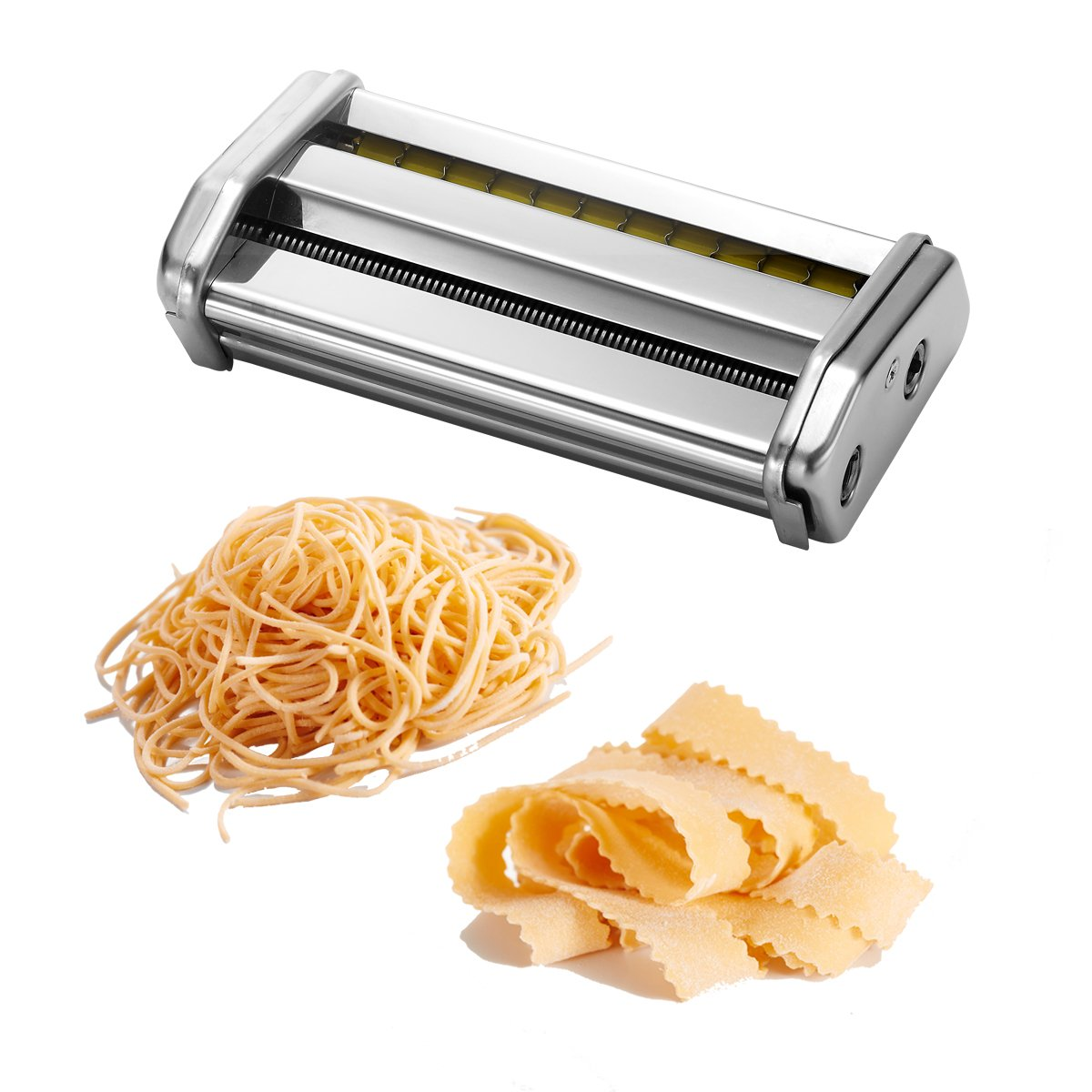 Amazon.com: Ovente Double Pasta Cutter Attachment for Angel Hair ...