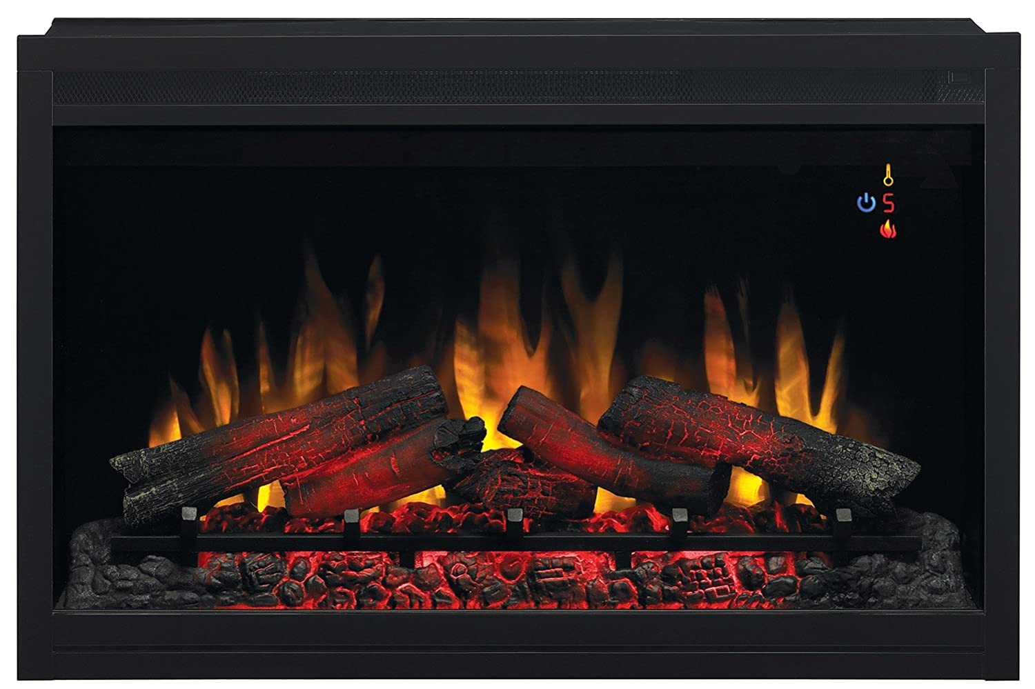 Amazoncom ClassicFlame EBGRT  Traditional Builtin - Style selections electric fireplace
