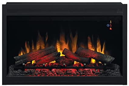 Nice ClassicFlame 36EB110 GRT 36u0026quot; Traditional Built In Electric Fireplace  Insert, ...