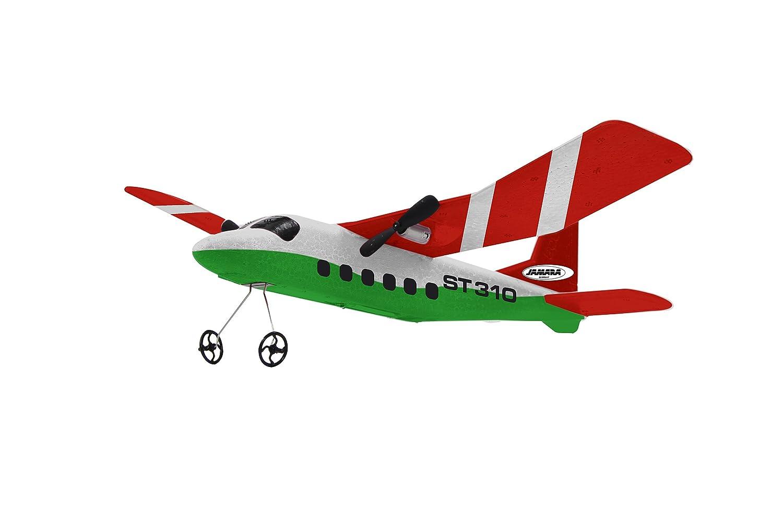 Jamara ST310 Aeronave - Juguetes de Control Remoto (Polímero de Litio, 150 mAh, 6 x AA, 310 mm, 280 mm)