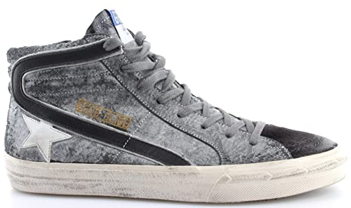 GOLDEN GOOSE Zapatos Hombres Sneakers Slide Savage Black Suede Made Italy New: Amazon.es: Zapatos y complementos