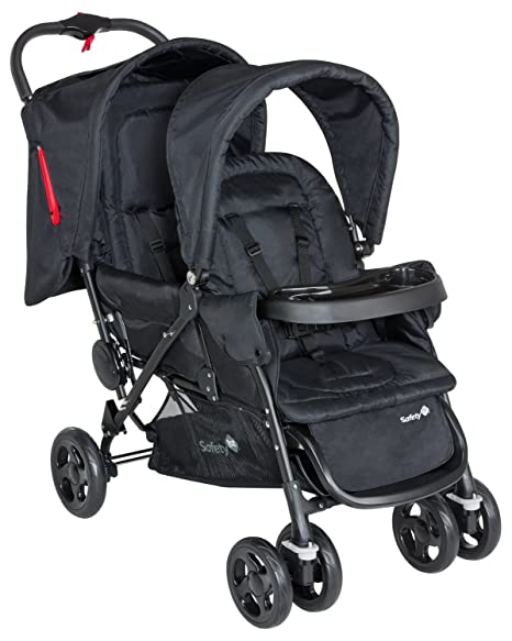 Safety 1st Duodeal 11487640 Silla de paseo gemelars, color negro (Full black) [