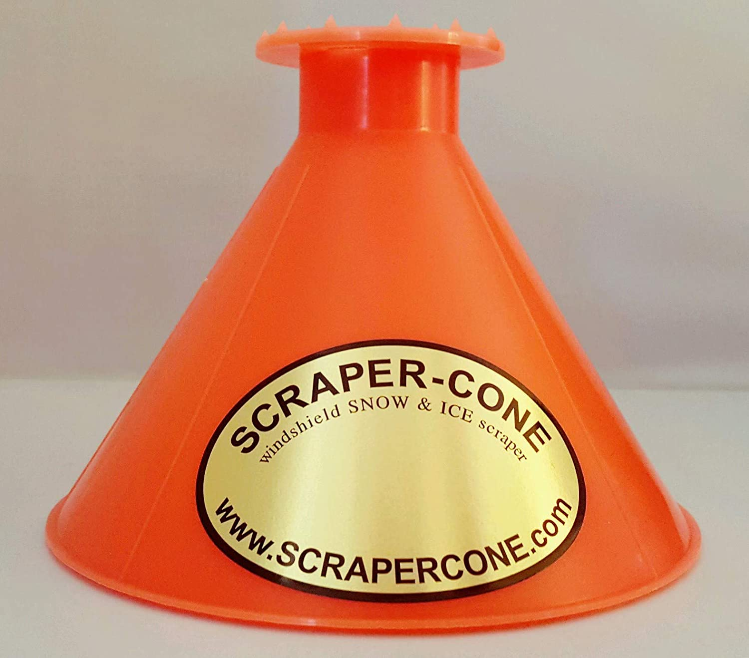 SCRAPER CONE 2 Pack of The Original Ice Scraper Made and Sold in The USA! Scrape a Round Ice Scraper