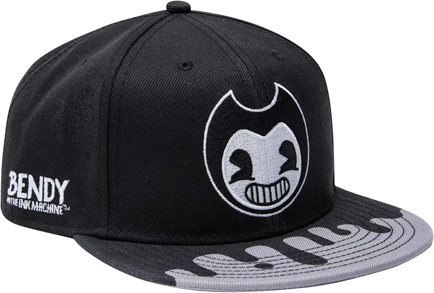 Bendy and the Ink Machine Hat - Black and White Bendy Hat - Bendy Snapback Hats