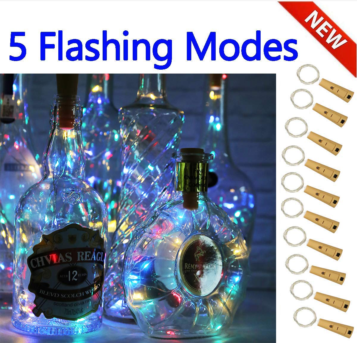 AG13 Battery Power Night Light Color Changing LED Light Home Party Decoration FA