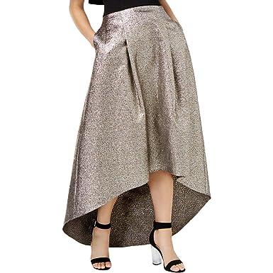 9a2ff2b4e Sachin + Babi Womens Metallic Midi Midi Skirt at Amazon Women's Clothing  store:
