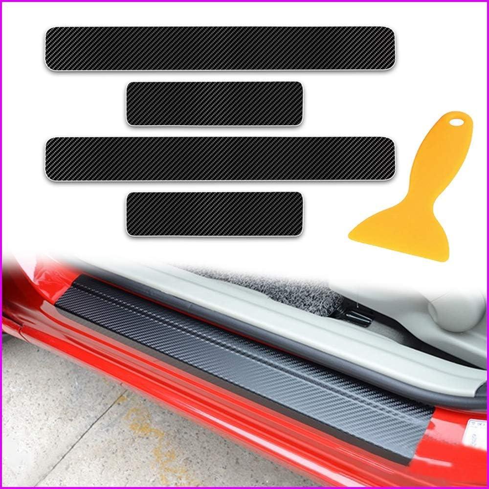 Longzhimei 4D Kohlefaser Auto Einstiegsleisten Aufkleber Kantenschutz F/ür M azda mazda3 CX-3 MX-5 CX-5 mazda6 CX-9 Kratzfeste 4 St/ück