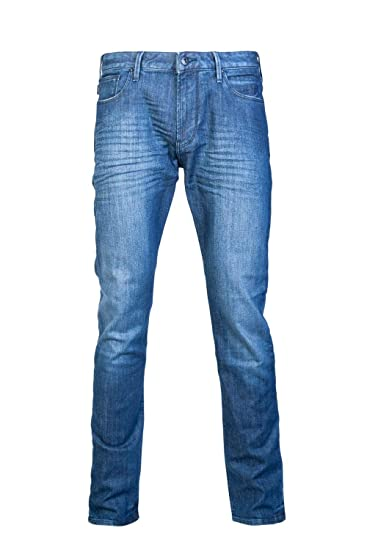 51b72244 Emporio Armani Men's Jeans Denim Blu: Amazon.co.uk: Clothing