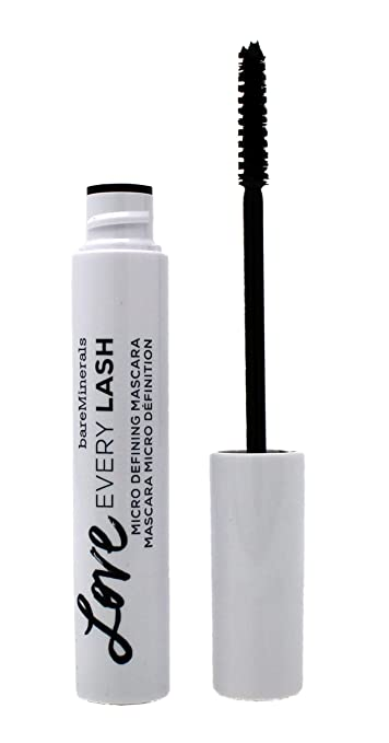 bareMinerals Love Every Lash Micro Defining Mascara, Black, 0.27 Fluid Ounce