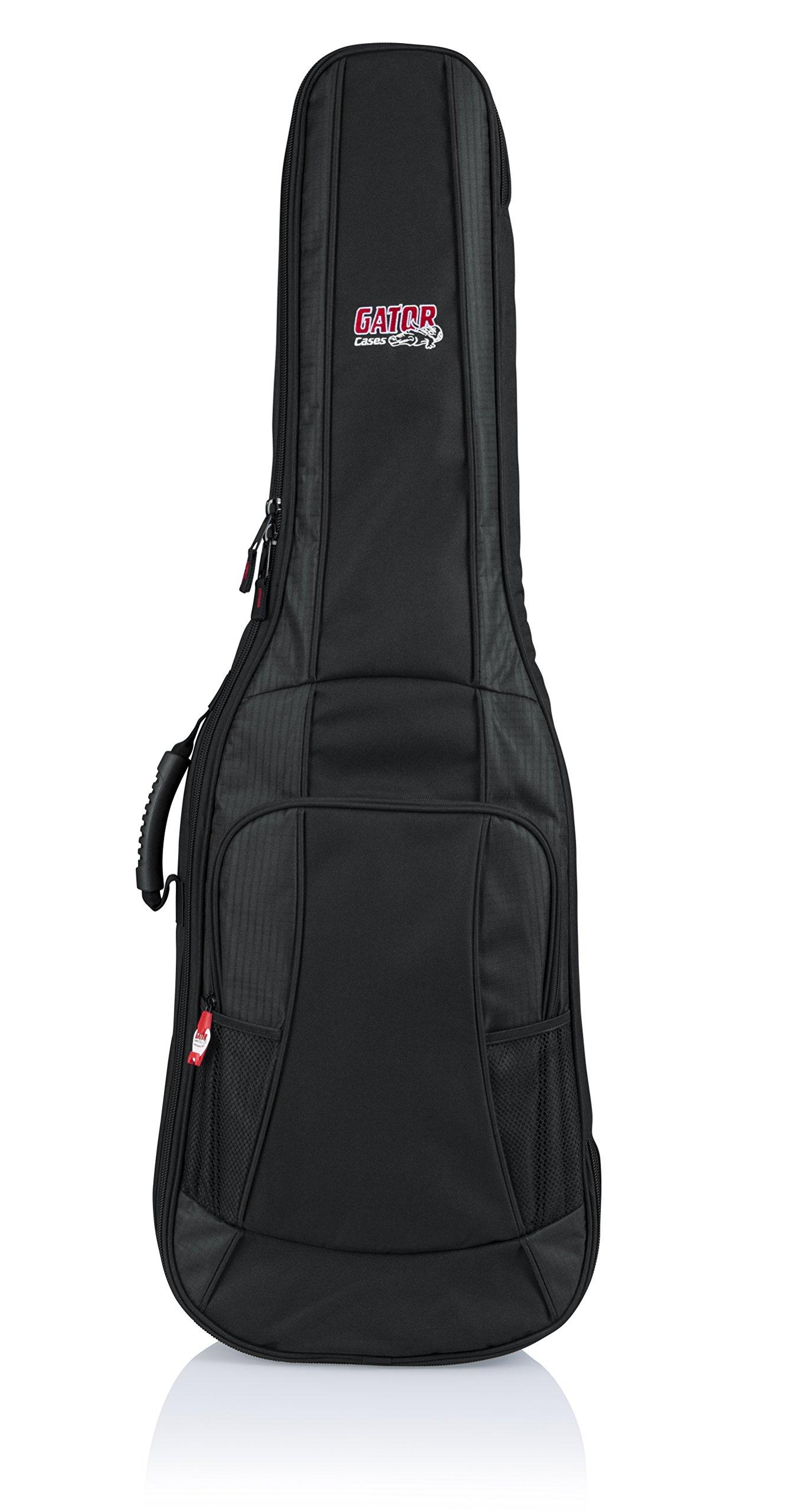 Gator Cases 4G Series Gig Bag For Electric Guitars with Adjustable Backpack Straps; Fits Jazzmaster Style Guitars (GB-4G-JMASTER)