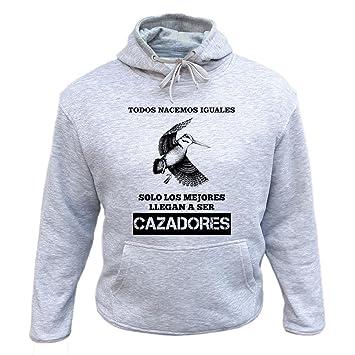 AtooDog Camiseta de Caza Cazador y Orgulloso de Serlo Becada Ideas Regalos