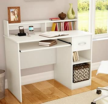 South Shore Study Table Desk Furniture  White. Amazon com  South Shore Study Table Desk Furniture  White  Toys