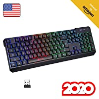 Deals on KLIM Chroma Rechargeable Wireless Gaming Keyboard + Slim