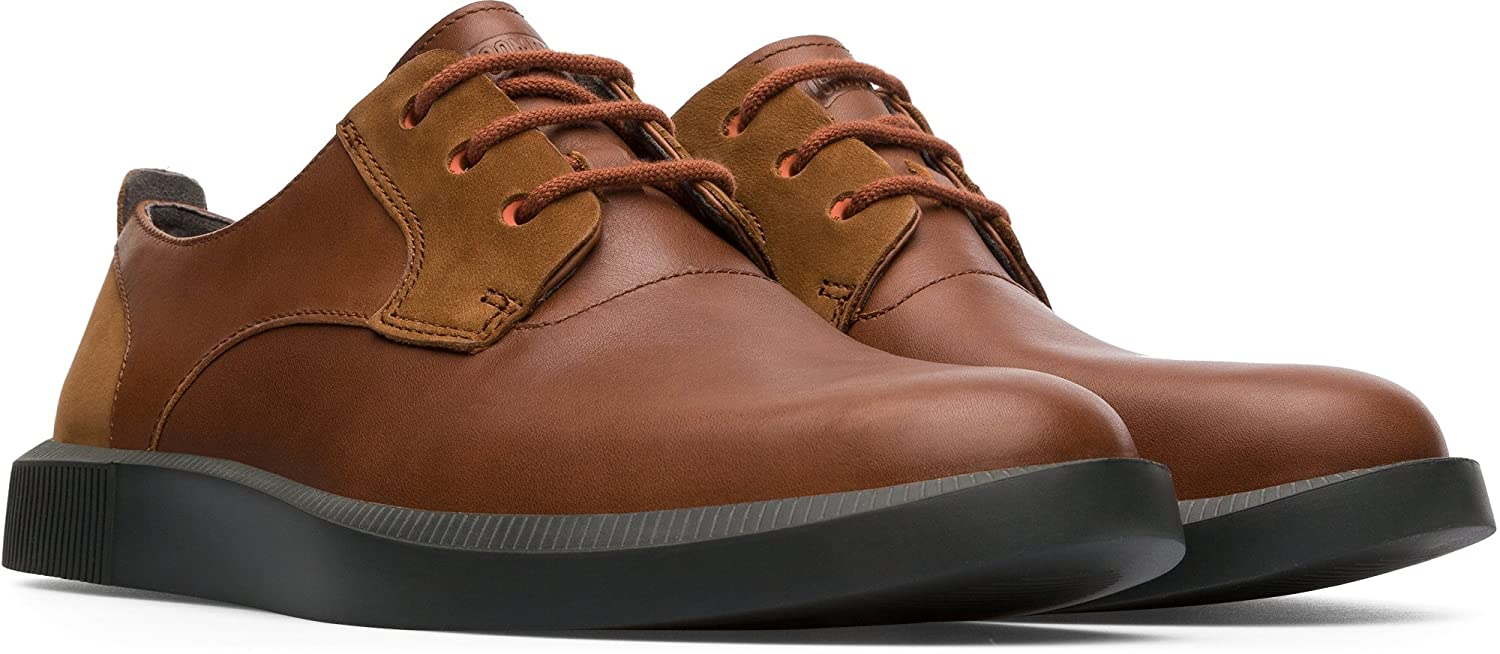 Leather Camper Leather Working Group Certified Lightweight Design Bill Men/'s Casual Shoe K100356-003 Different Sizes Ortholite Insole Brown