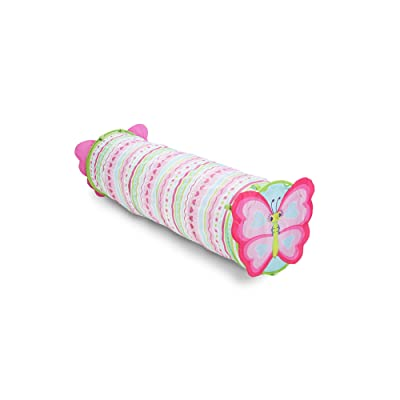 Melissa & Doug Sunny Patch Cutie Pie Butterfly Crawl-Through Tunnel (almost 5 feet long): Toys & Games