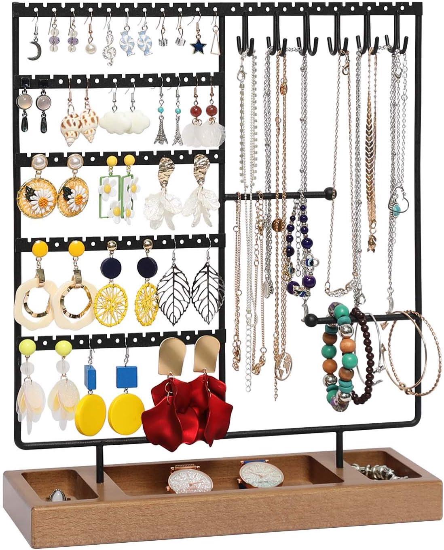 Mannequin Jewelry Rack Necklaces Chain Earrings Display Desktop Jewelry Hanger
