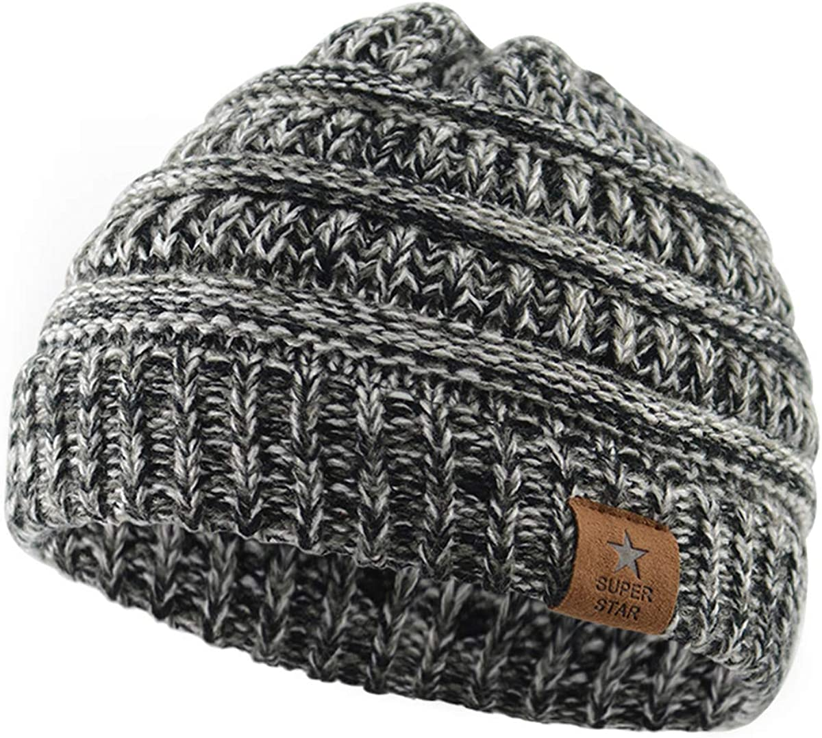 Zando Baby Beanies Infant Toddler Winter Hat Soft Warm Knit Hats Caps for Boys