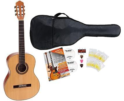 Rocktile CG de 70 F 4/4 Guitarra de concierto Starter Set Incluye ...