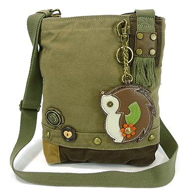 1aeafb5b3ac5 Chala Patch Crossbody Messenger Handbag - Olive (HedgeHog)  Handbags ...