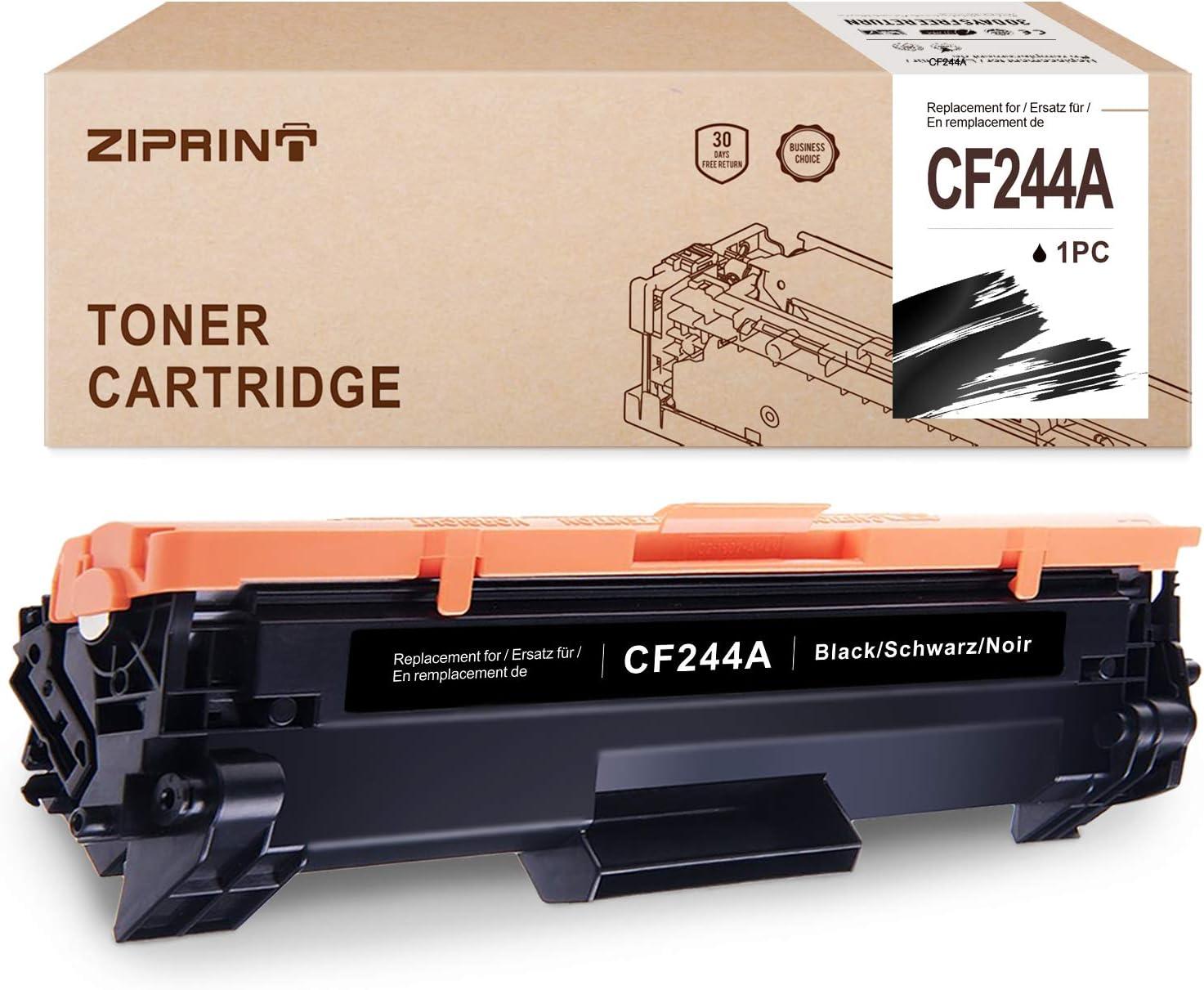 ZIPRINT 2 Negro Toner Compatible HP CF244A 44A Toner para HP Laserjet Pro M15w M15a M16w M16a M29w M29a HP Laserjet Pro MFP M28w MFP M28a