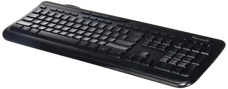Amazon Microsoft Wired Keyboard 600 Black Electronics