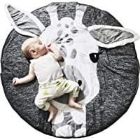 New Luxury Star Nursery Soft Rug For Kids Bedroom Playroom Dia 70cm