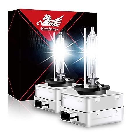 D2S Xenon Brenner AOLEAD Hid Xenon Scheinwerferlampe 12V 35W 2 Lampen 8000K