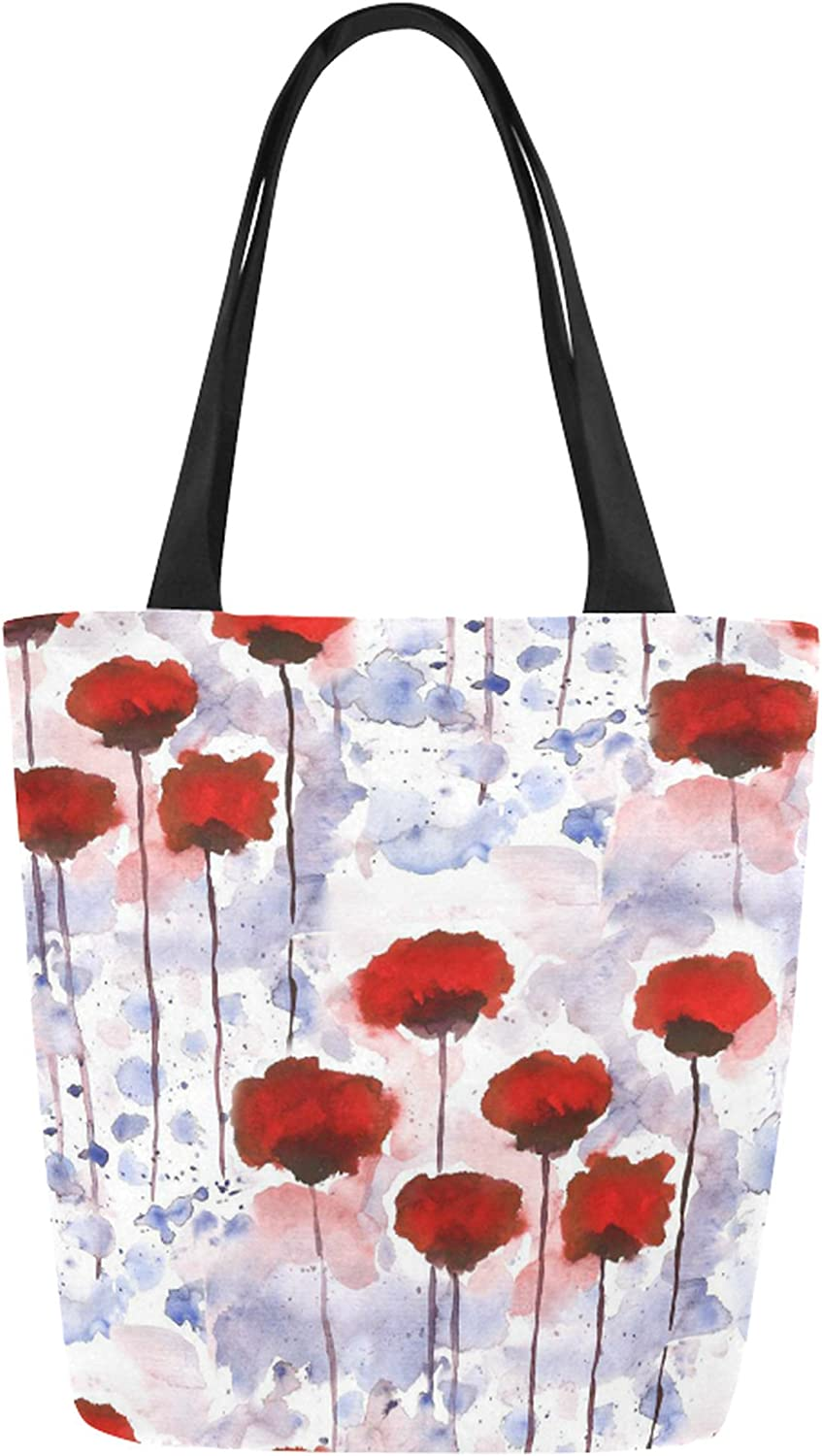 Poppies Canvas Tote bag