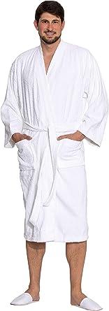 ZOLLNER Albornoz de Ducha para Hombre y Mujer, Varias Tallas, 100% algodón, 019: Amazon.es: Ropa y accesorios