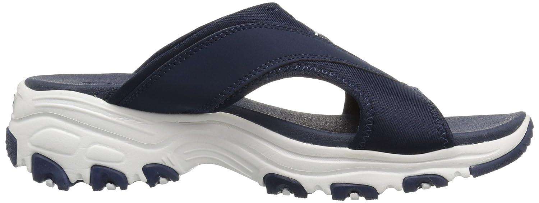 Skechers Women's D'Lites-Retro Vibe Slide US|Navy Sandal B071KKKG4F 7 M US|Navy Slide 9d4502