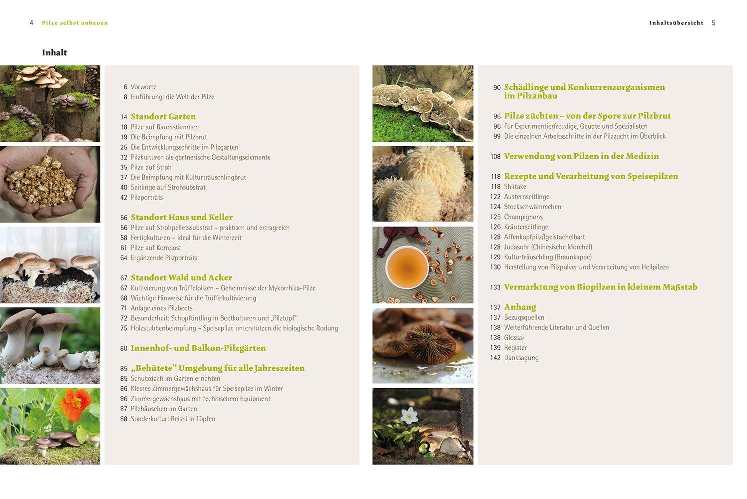 Pilze selbst anbauen: Das Praxisbuch für Biogarten, Balkon, Küche ...