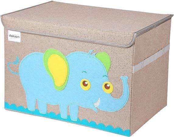 Caja de almacenaje Caja de almacenamiento de juguetes Contenedor de canasta grande para juguetes Caja de Juguetes y Almacenamiento con tapa, tamaño grande para guardar juguetes,libros,ropa de cama: Amazon.es: Hogar