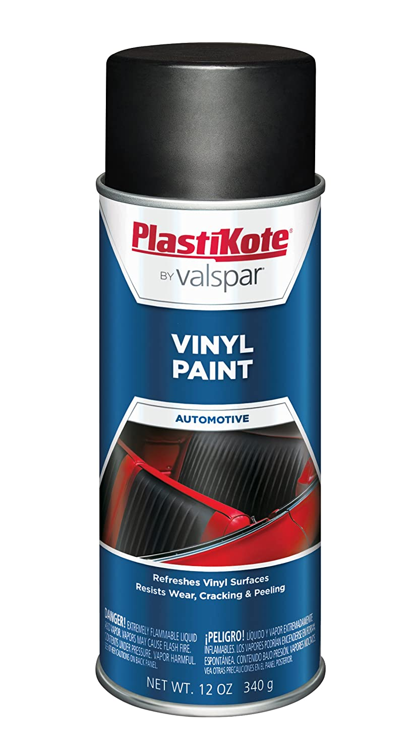 PlastiKote 408 Charcoal Gray Vinyl Paint, 12 oz.