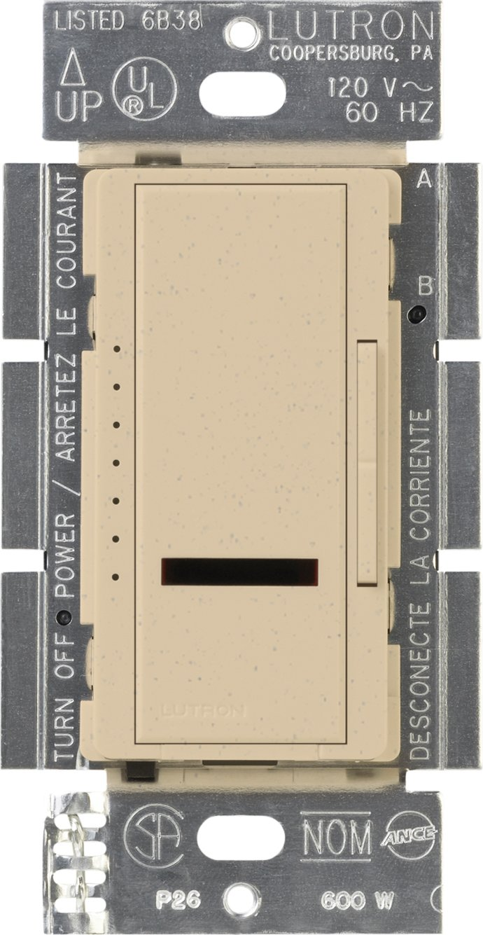 Lutron MIR600LA Maestro IR 600Watt SinglePole Dimmer Light