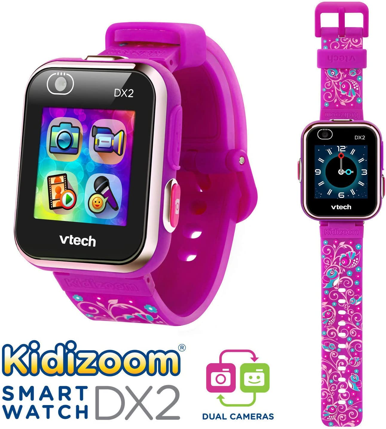 Vtech 80-193837 Kidizoom Smart Watch DX2 - Reloj inteligente para ...