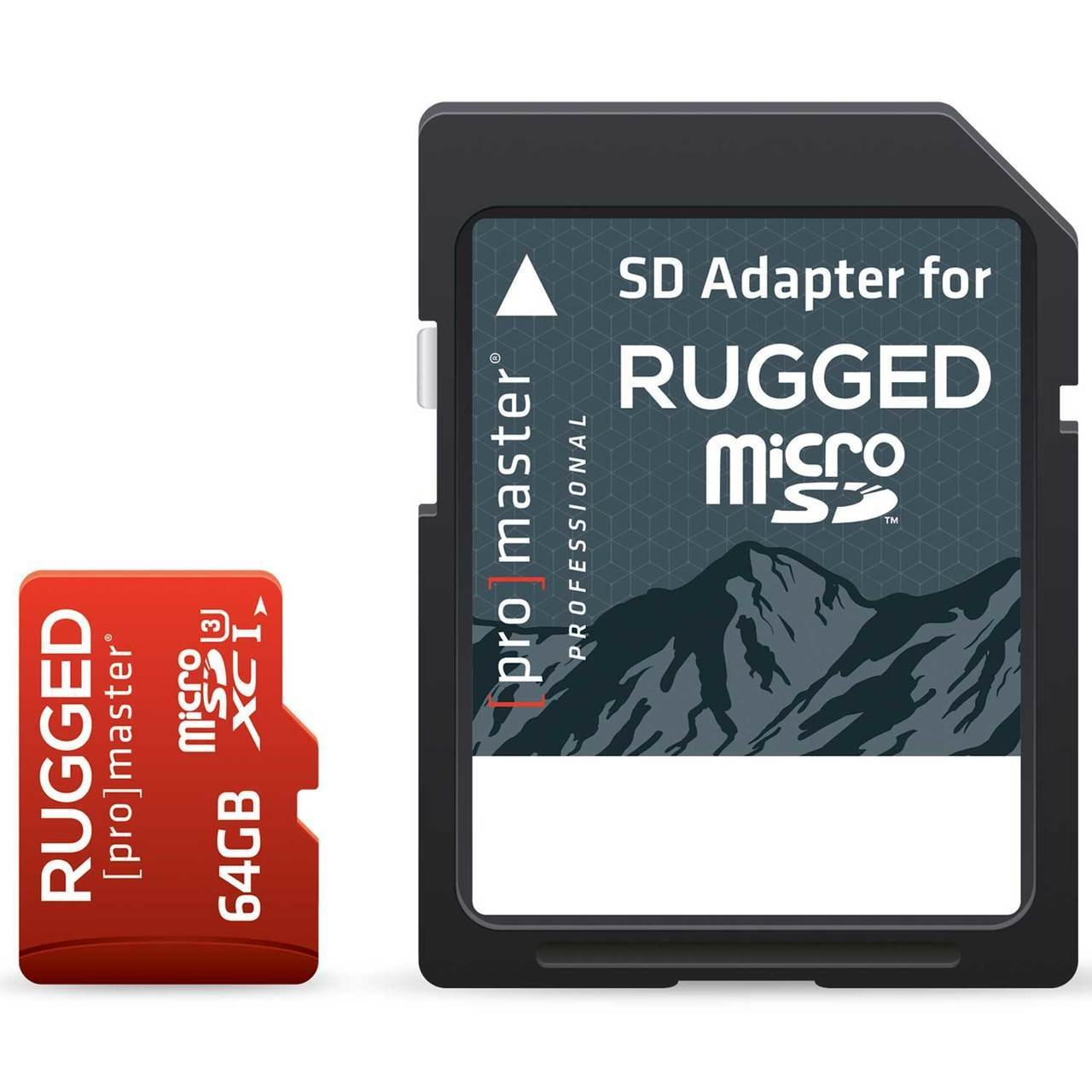 ProMaster Micro SD Professional Rugged Memory Card 64GB