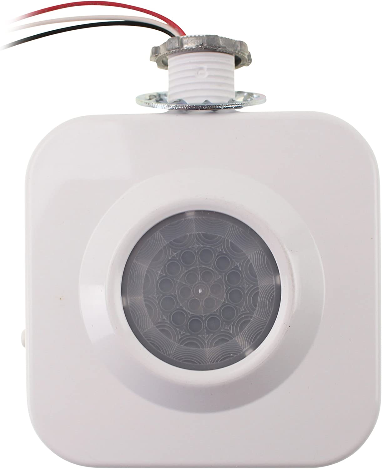 12V 360/° Infrared PIR Motion Sensor Switch with Time Delay for Corridors//Bathrooms//Basements//Garages