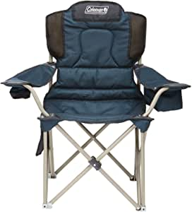 Chair Quad Big Camping Chair Coleman 5 Year Warranty 22mm Steel Frame Deluxe