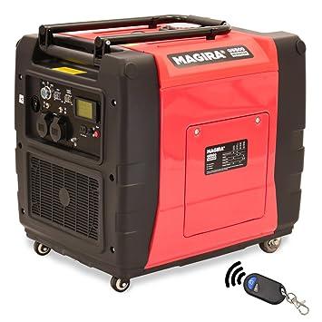 MAGIRA 5,5kW Digitaler Inverter Stromerzeuger, benzinbetriebener ...