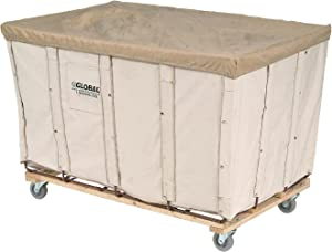 Global Industrial Canvas Basket Bulk Truck, 16 Bushel