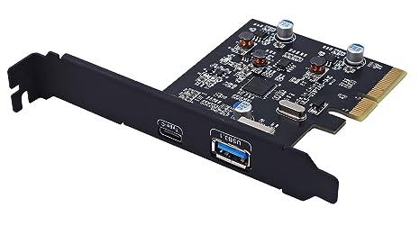 ULANSEN PCI Express PCI-E 4 x a USB 3.1 Gen 2 de 10 Gbps ...