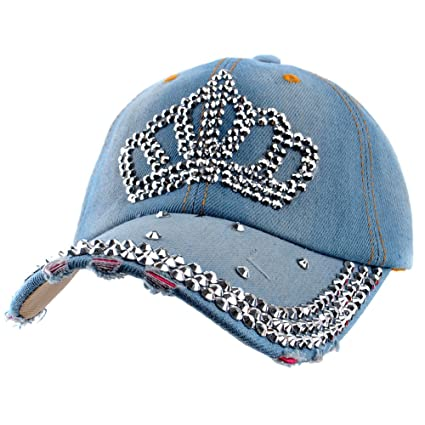 8bf6cd1842f Amazon.com  Elonmo Bling Hats