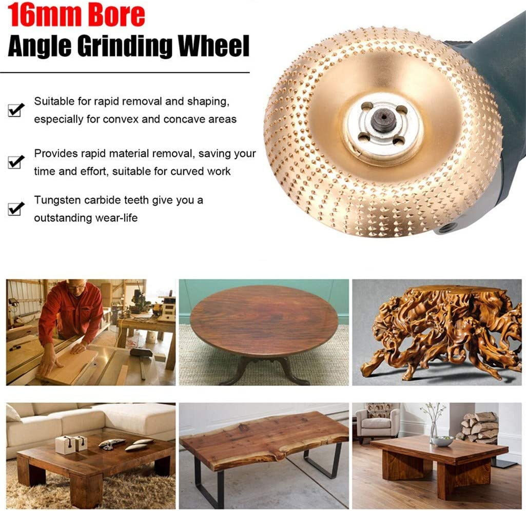 for Rapid Removal and Shaping Polishing Grinding Wheel Plate Shaping Disc with Hundreds of Extremely Incisive Teeth 100mm High Hardness Steel Angle Grinder Polishing Disc