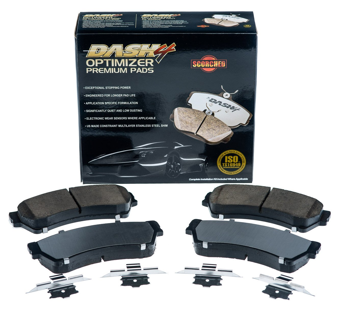 Dash4 CFD1411 Optimizer Premium Brake Pad